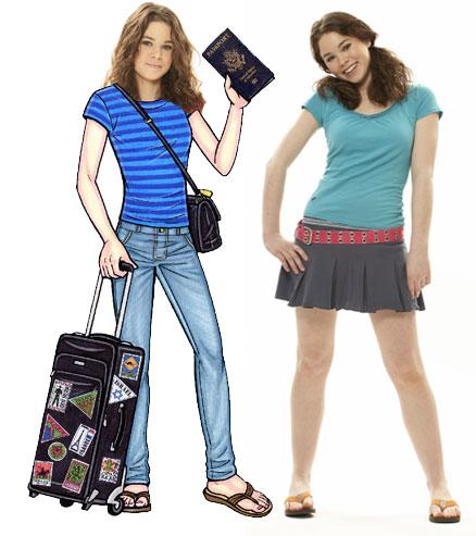 Travel Teen Lifesize Cutout