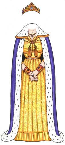 Royal Queen Cutout