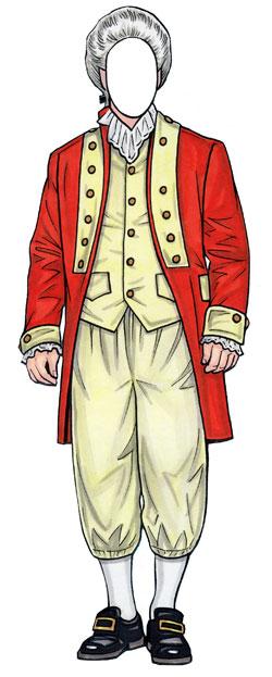 Old Fashioned Aristocrat Man Lifesize Cutout