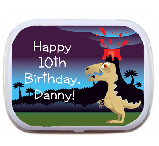 Dinosaur Theme Mint Tin