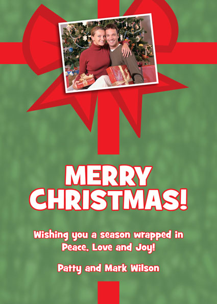 Christmas Photo Theme Holiday Card