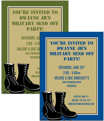 Boot Camp Invitation