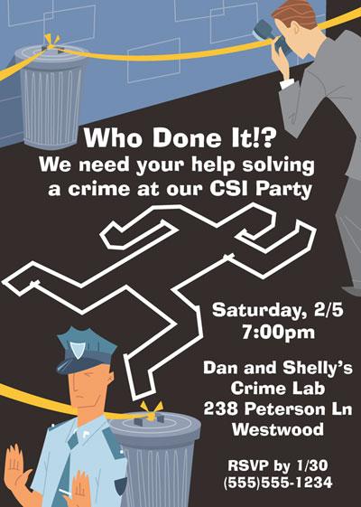 csi theme invitation