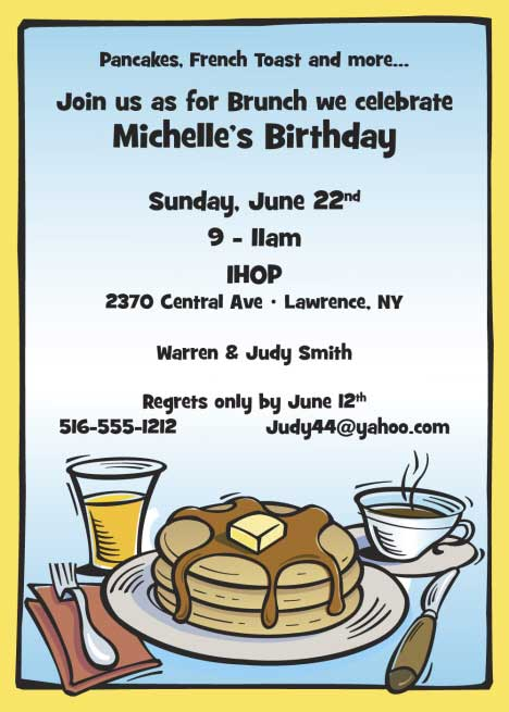 Brunch Invitation