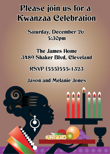 Kwanzaa Celebration Invitation