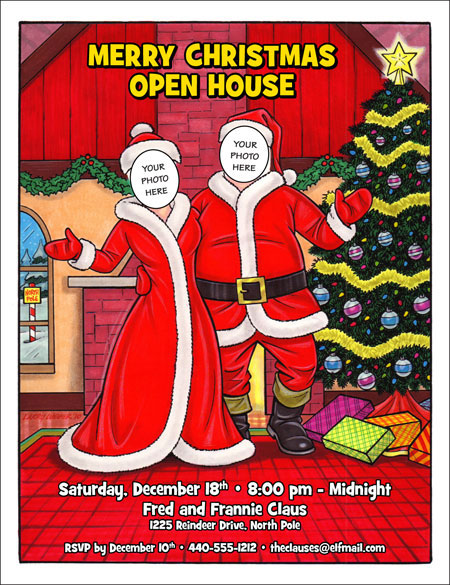 Christmas Party Invitations Invitations To Christmas Party