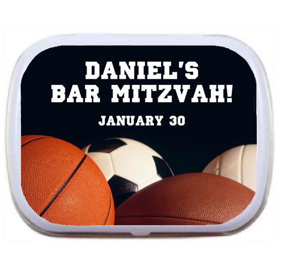Sports Balls Mint Tin