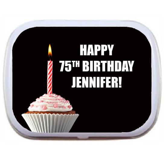 A Milestone Cupcake Birthday Mint Tin