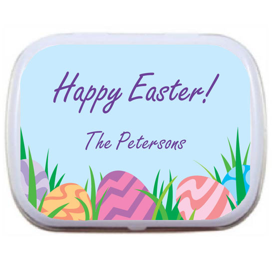 Easter Eggs Spring Theme Mint Tin