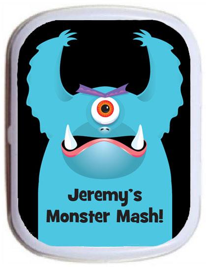 Halloween Monster Theme Mint Tin