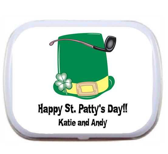 St. Patrick's Day Derby Mint Tin