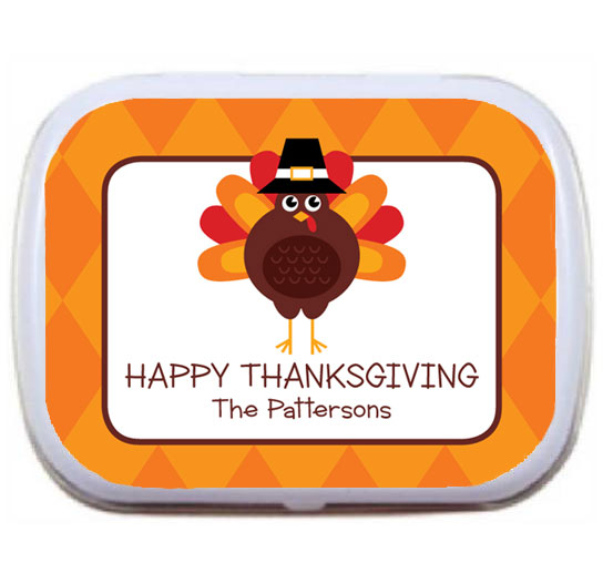 Thanksgiving Celebration Theme Mint Tin