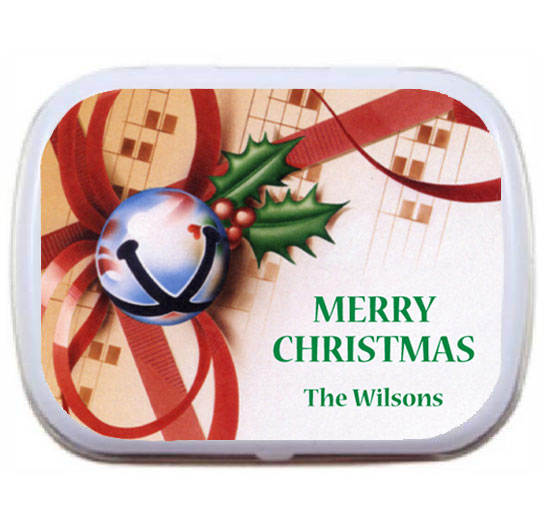 Christmas Bells Mint Tin