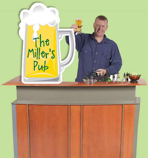 Beer Theme Standee Sign