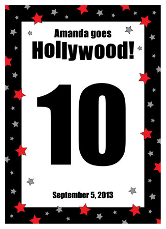 Hollywood Star Table Number