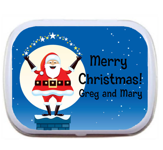 Christmas Santa Magic Mint Tin