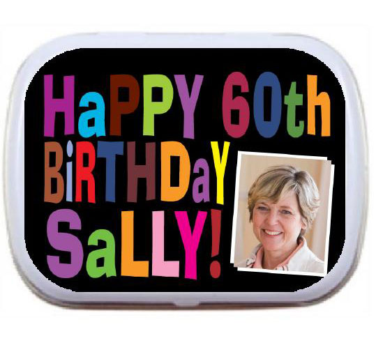 Birthday Celebration Theme Mint Tin
