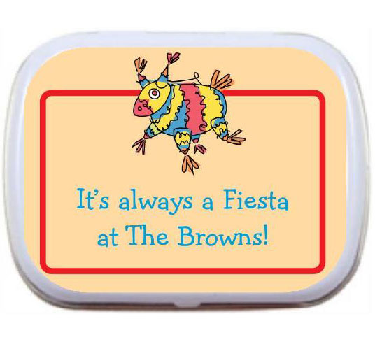 A Fiesta Theme Mint Tin