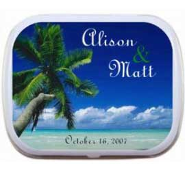 Mint Tin, Beach Scene Theme