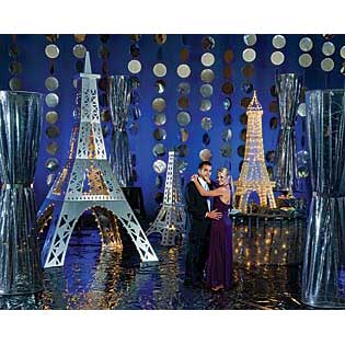 Paris - Silver Lights of Paris Decorating Kit