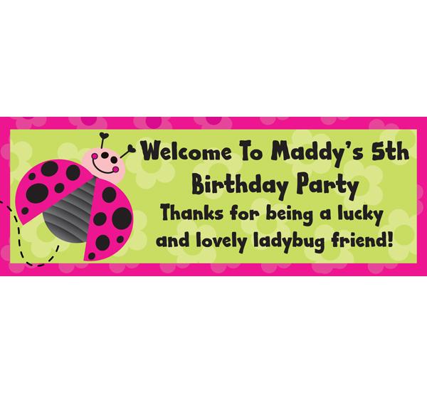 Ladybugs Theme Banner
