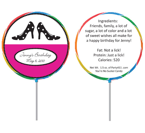 Custom Lollipop, Shoe Theme