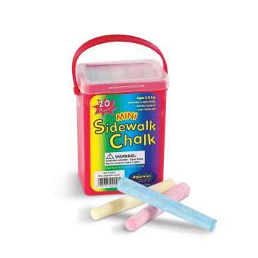 Mini Sidewalk Chalk Set