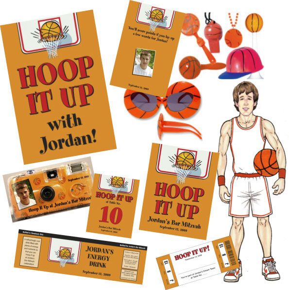 Basketball Theme Party Package