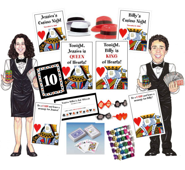 A Casino Party Theme Party Package