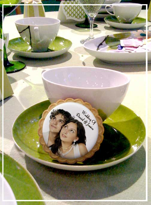 A Custom Sweet 16 Photo Cookie