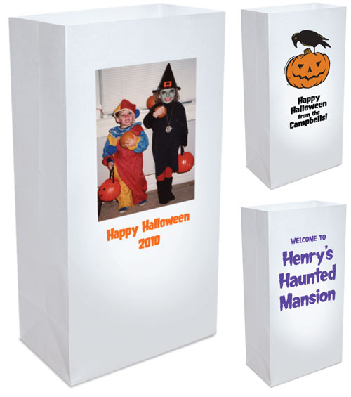 Halloween Luminary Bag Decoration
