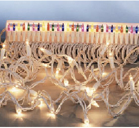 String Lights 100 Bulbs Cle/gre Set