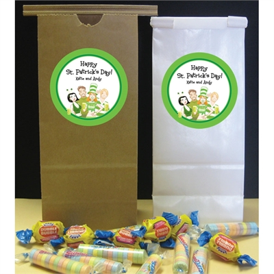 St. Patrick's Day Pub Theme Party Favor Bag