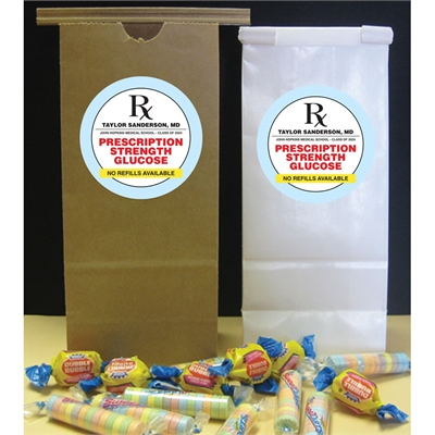 Graduation Prescription Pad Theme Party Favor Bag