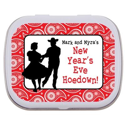 Western Hoedown Theme Mint Tin
