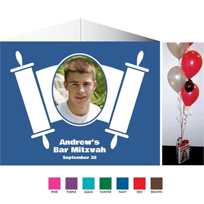 Torah Theme Bar Mitzvah Centerpiece