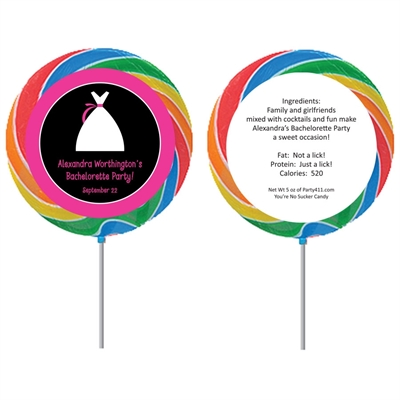 Bride's Party Lollipop