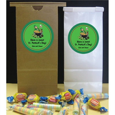St. Patrick's Day Leprechaun Theme Favor Bag