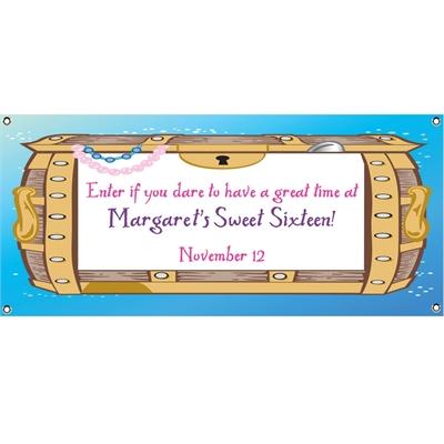 Under The Sea Treasure Theme Banner