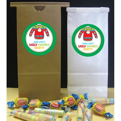 Ugly Sweater Party Favor Bag