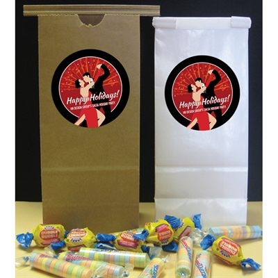 Salsa Dance Party Personalized Favor Bag