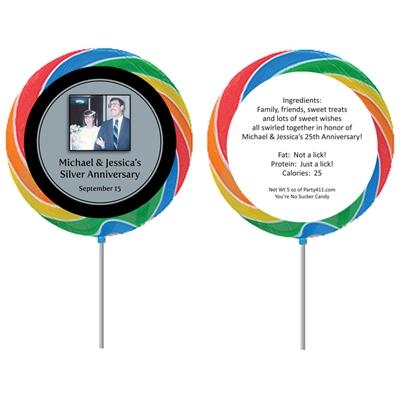 25th Anniversary Custom Lollipop