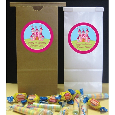 Birthday Castle Theme Party Favor Bag