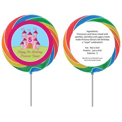 Birthday Castle Theme Lollipop