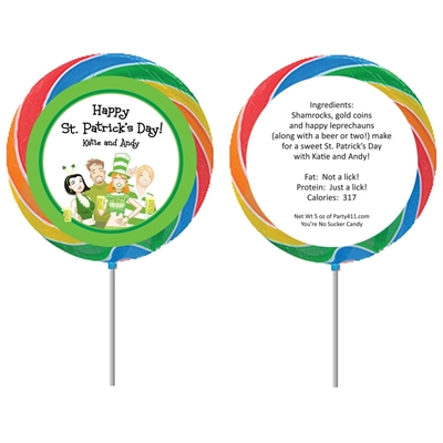 St. Patrick's Day Pub Lollipop