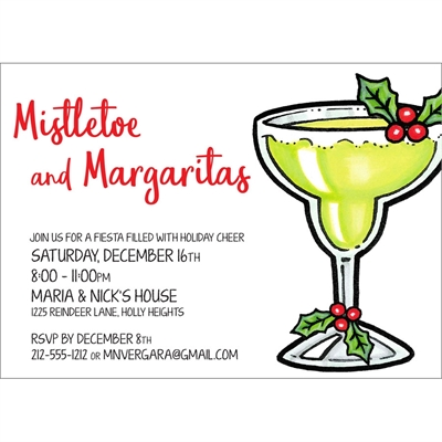 Christmas Fiesta Holiday Invitation