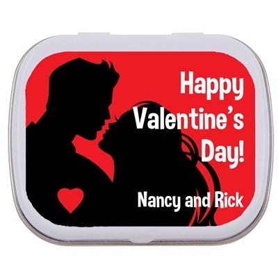 Valentine's Day Couple Mint Tin