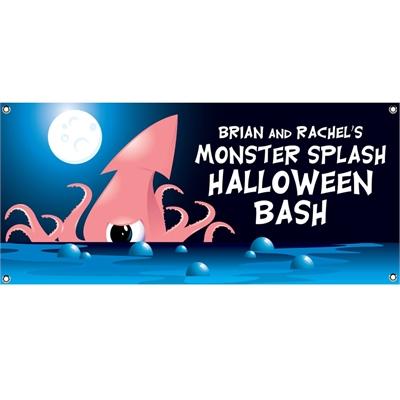 Halloween Sea Creature Theme Banner