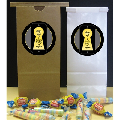 Murder Mystery Party Favor Bag