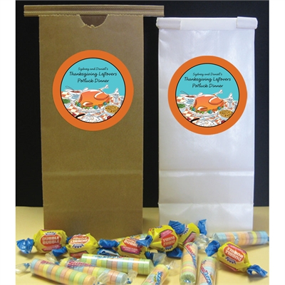 Thanksgiving Potluck Theme Party Favor Bag